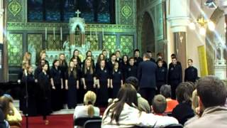 WIT youth choir sing the Lamentation of Jeremiah