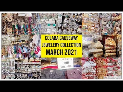 Shopping In Colaba Causeway | Colaba Market |  Colaba Street Shopping | March 2021