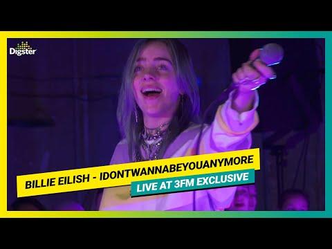 Billie Eilish -  Idontwannabeyouanymore | Live At 3FM Exclusive