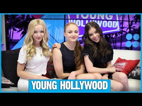 BARELY LETHAL's Hailee Steinfeld, Sophie Turner, & Dove Cameron on Playing Assassins!