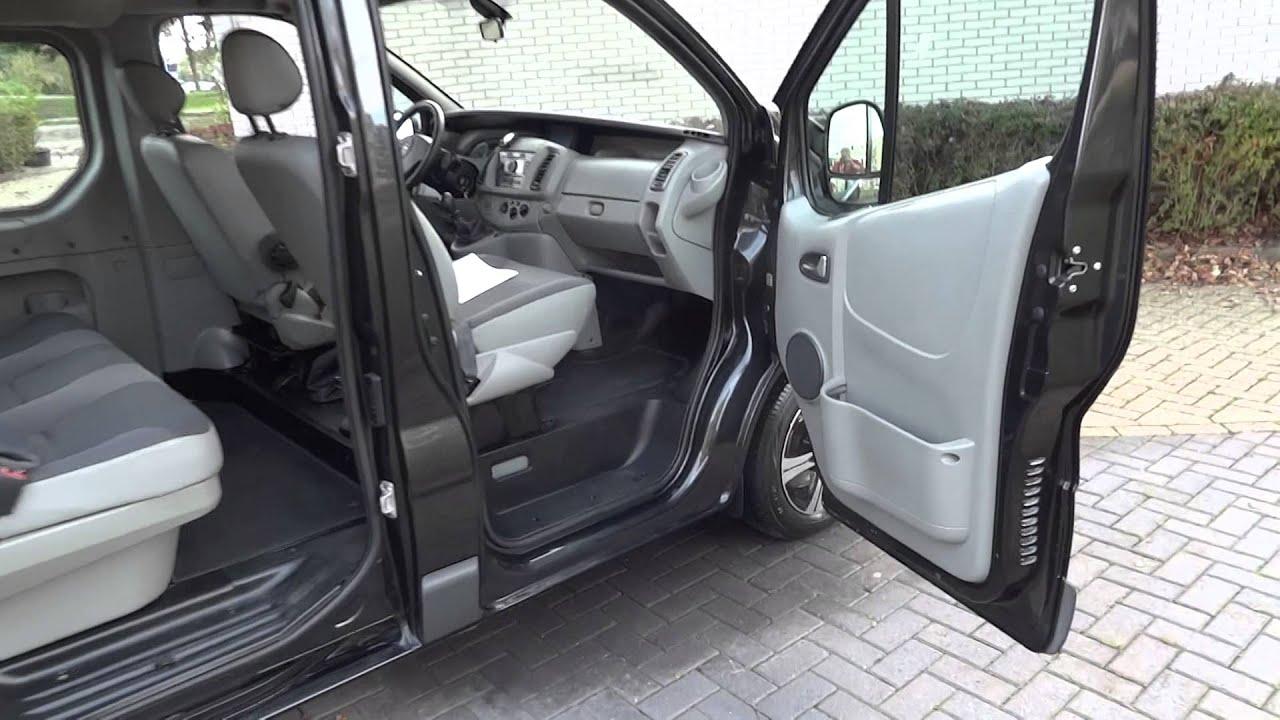 Opel vivaro 2 5 cdti dubbel cabine www eafautos nl for Interieur opel vivaro