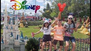 Family vacation to Disney World! HZHtube kids fun vlog