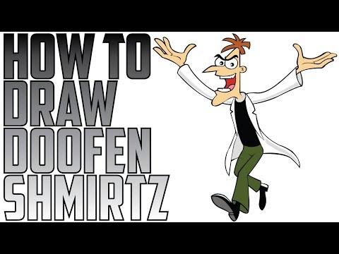 How To Draw Doofenshmirtz Speed Drawing Expert