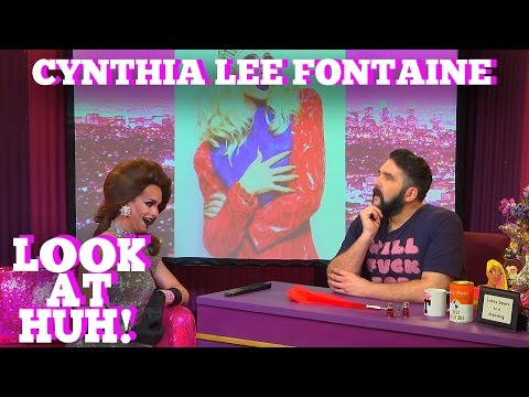 CYNTHIA LEE FONTAINE of RUPAUL'S DRAG RACE on LOOK AT HUH!