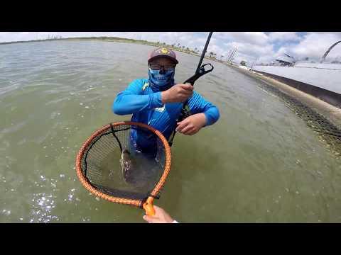 Fishing in Galveston, Texas
