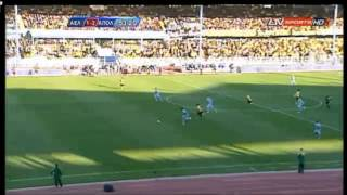 ael 3 2 apollon highlights goals red cards
