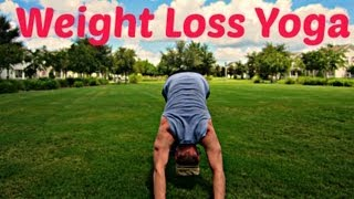 Yoga for Weight Loss - 10 min Fat Burning Workout #poweryoga