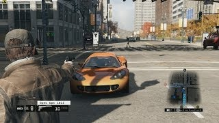 Watch Dogs Daytime Missions PC Gameplay Max Settings Ultra Graphics