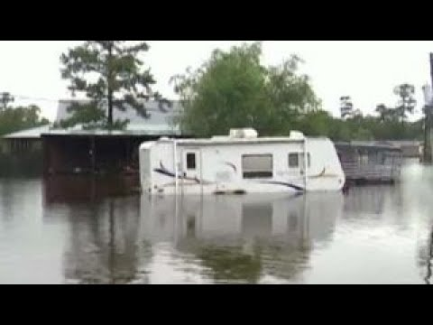 Dire situation: Port Arthur, Texas is underwater