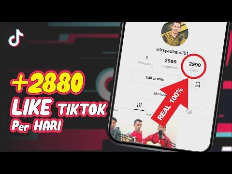 CARA MENAMBAH LIKE TIKTOK 3K | TERBARU 2020