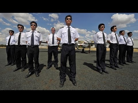 Chinese pilots in high demand