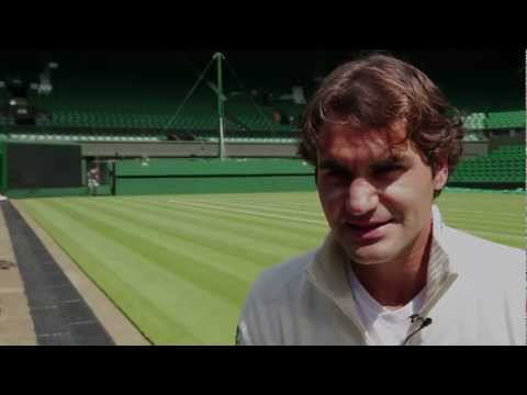 Roger Federer over het ABN AMRO World Tennis Tournament