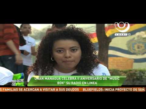 UNAN - Managua celebra el Segundo Aniversario de Music Box, su radio en línea
