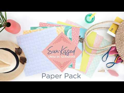 Sun-Kissed Paper Pack | Creative Memories Australia