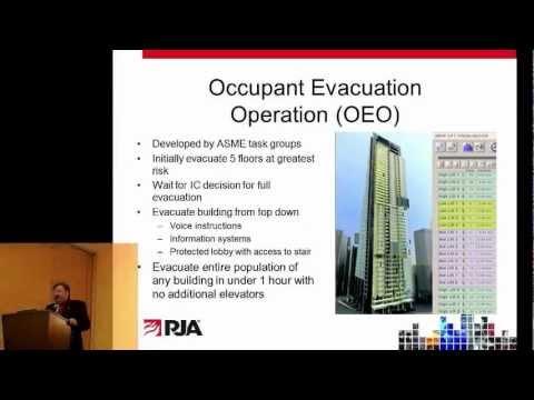 FEMTC 2011 - Incorporating Elevators and Escalators into Emergency Evacuation Models