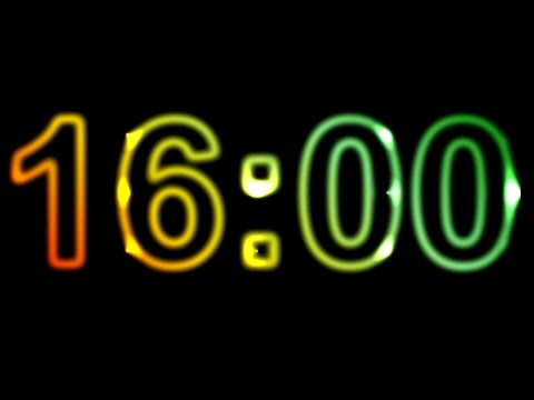16 Minute Timer with Music ⏰🔔Countdown Timer 16 Minutes