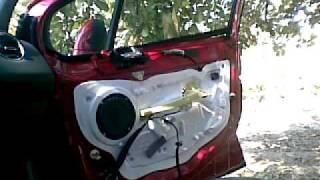 Peugeot 308 Door Panel Removal , Cum desfacem un panou usa fata Peugeot 308