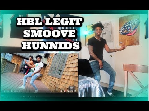I was in my first music video ! HBL Legit Smoove Hunnids Reaction ( Intro Song )