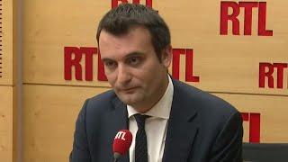 Florian Philippot - L'invité de RTL du 7 novembre 2017