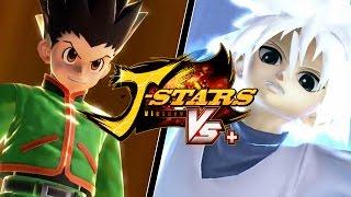 [PS4] J-Stars Victory VS+ Free Battle - Gon vs. Killua | Hunter x Hunter