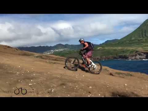 Climbing Volcano on Haibike electric bike (full)