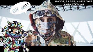 Baixar Cashmere Cat, Major Lazer, Tory Lanez - Miss You (Animated Music Video)