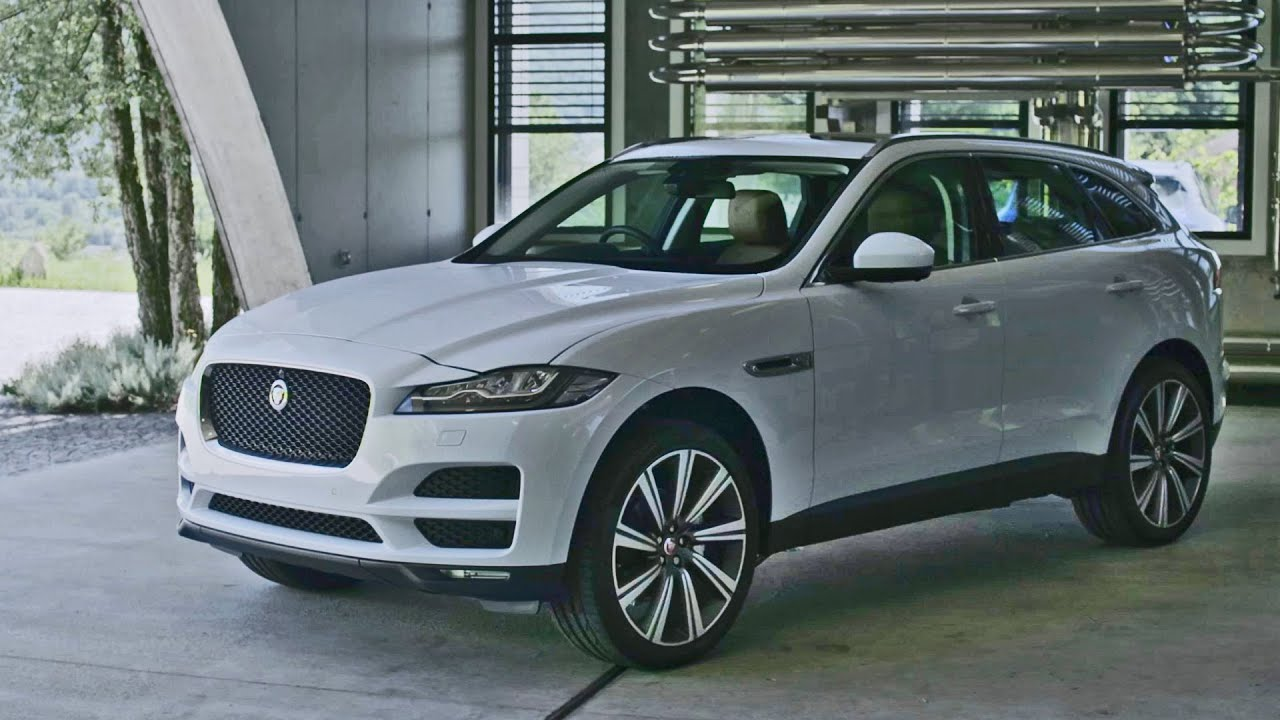 jaguar f pace 2016 interior and exterior design youtube. Black Bedroom Furniture Sets. Home Design Ideas