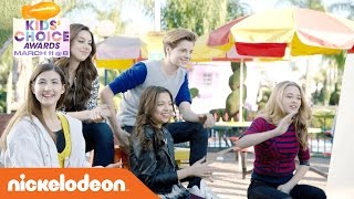 Guests JoJo Siwa and YouTube star Meg DeAngelis join the casts of Henry Danger (Jace Norman & Riele Downs), The Thundermans (Jack Griffo & Kira ...