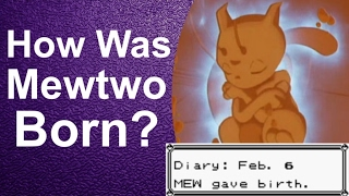 How Was Mewtwo Born? Mewtwo's Birthday! [Pokemon Red and Blue Theory / Discussion] | GatorEX