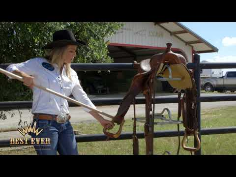 How to Break In a New Saddle - YouTube