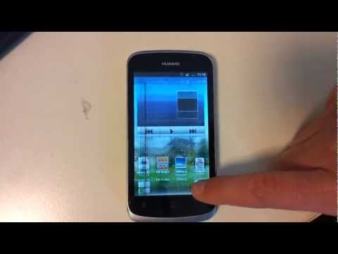 Huawei Ascend g300 - display flickering jumping problem after phone dropped