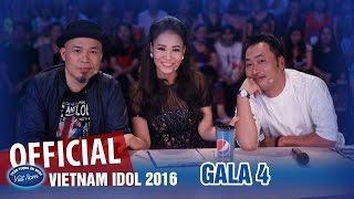 Vietnam Idol 2016 Tập 12 - Gala 4 Full HD