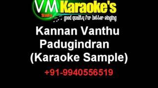 Kannan Vanthu Padugindran Karaoke