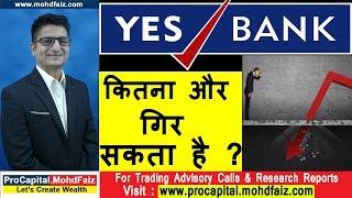 YES BANK कितना और गिर सकता है | YES BANK SHARE NEWS TODAY