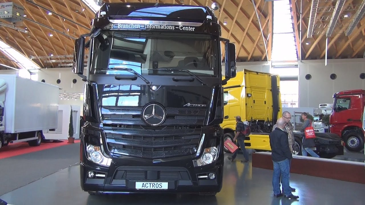 Mercedes Benz Actros 1848 4x2 Tractor Truck 2016 Exterior And Interior In