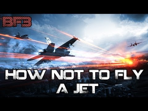 BF3 - How NOT to fly a jet