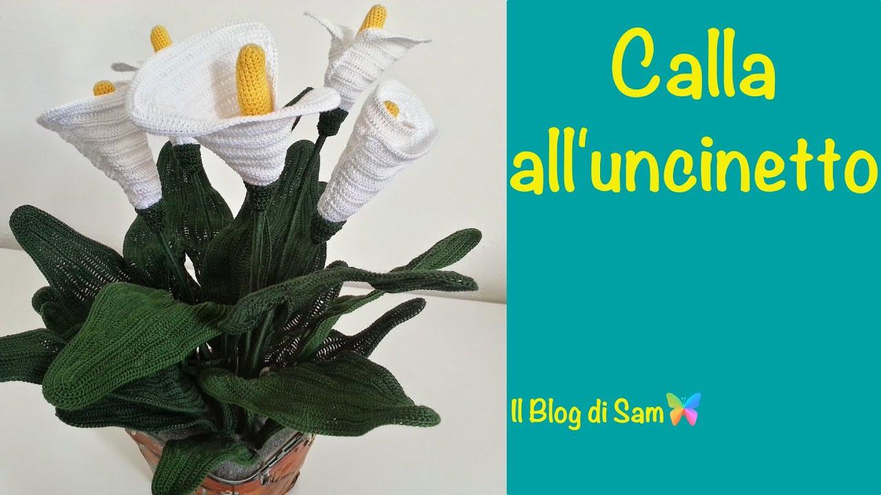 Spiegazione Della Calla All Uncinetto Youtube