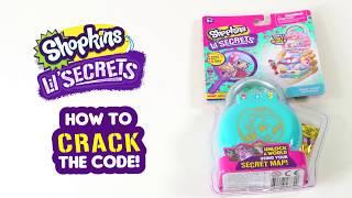 "SHOPKINS LIL' SECRETS | ""How to"" crack the Lil' Secrets code"