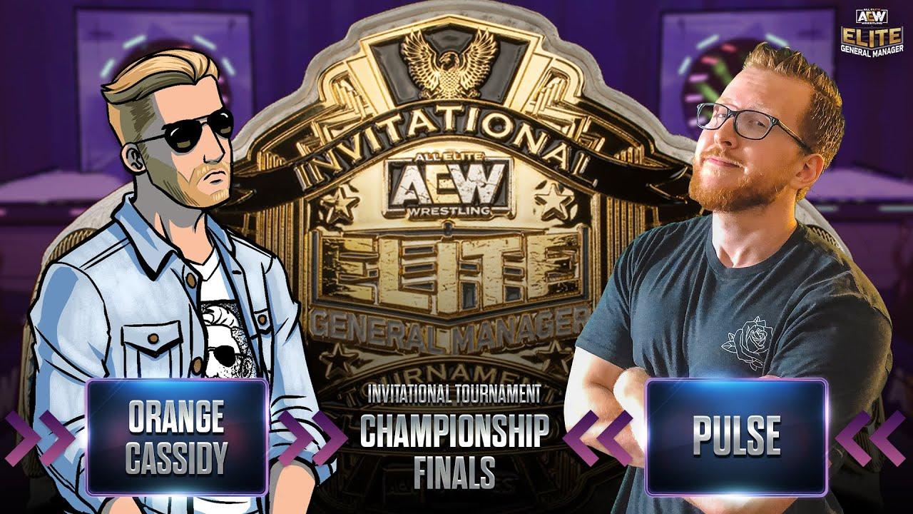 Orange Cassidy vs Pulse   AEW Elite GM Invitational Tournament   Championship Finals