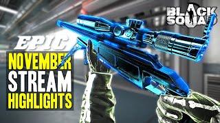 EPIC November Stream Highlights (Black Squad)