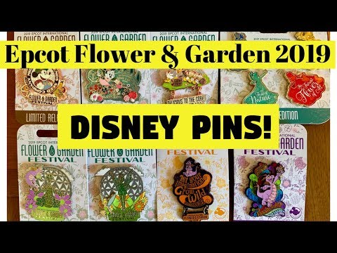 EPCOT International FLOWER & GARDEN Festival 2019 Disney Pins!