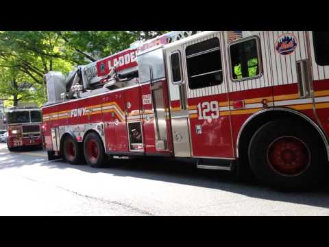 FDNY responding and on scene of unknown...