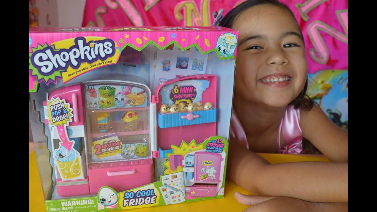 Shopkins Season 2 So Cool Fridge Playset 2 Exclusive Shopkins Kids