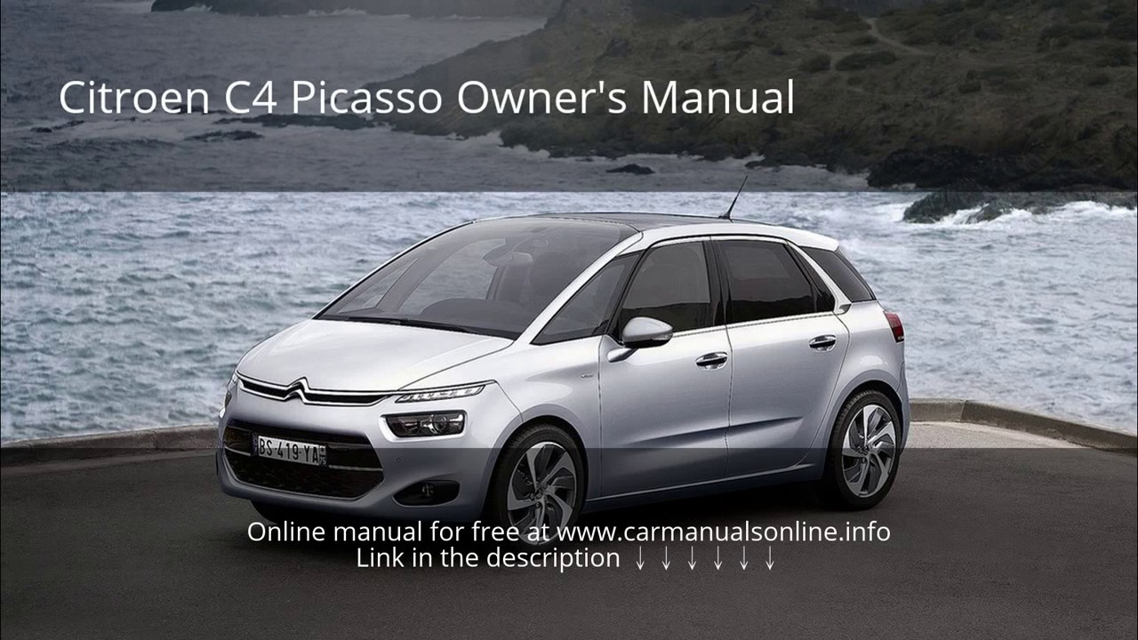 2015 Citroen C4 Picasso owners manual