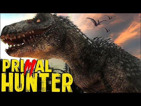 The Hunter Primal | HUNTING A TREX!!