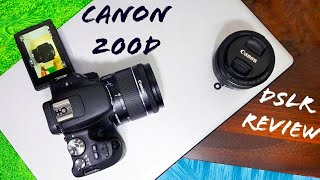 Canon 200D Full Review - The Best Beginner DSLR For 2018 (Photo & Video Samples)