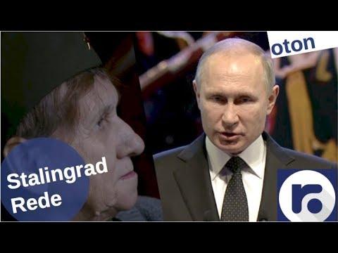 Putin über Stalingrad auf deutsch