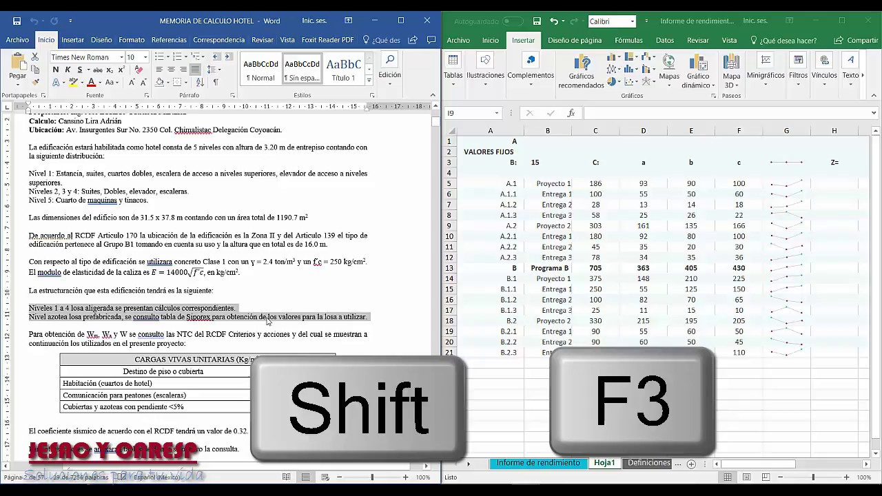 Cambiar de Minuscula a Mayuscula en Word y Excel [FÁCIL