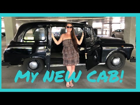 FIRST TIME IN A LONDON CAB | NEW LONDON TAXI TEST DRIVE REVIEW