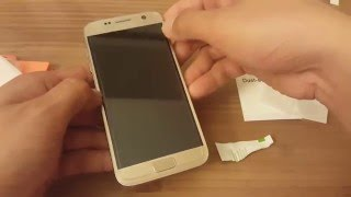 Laohe Galaxy S7 tempered glass install review